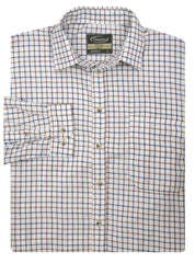 Salisbury Tattersall Country Check Shirt by Champion Green and blue