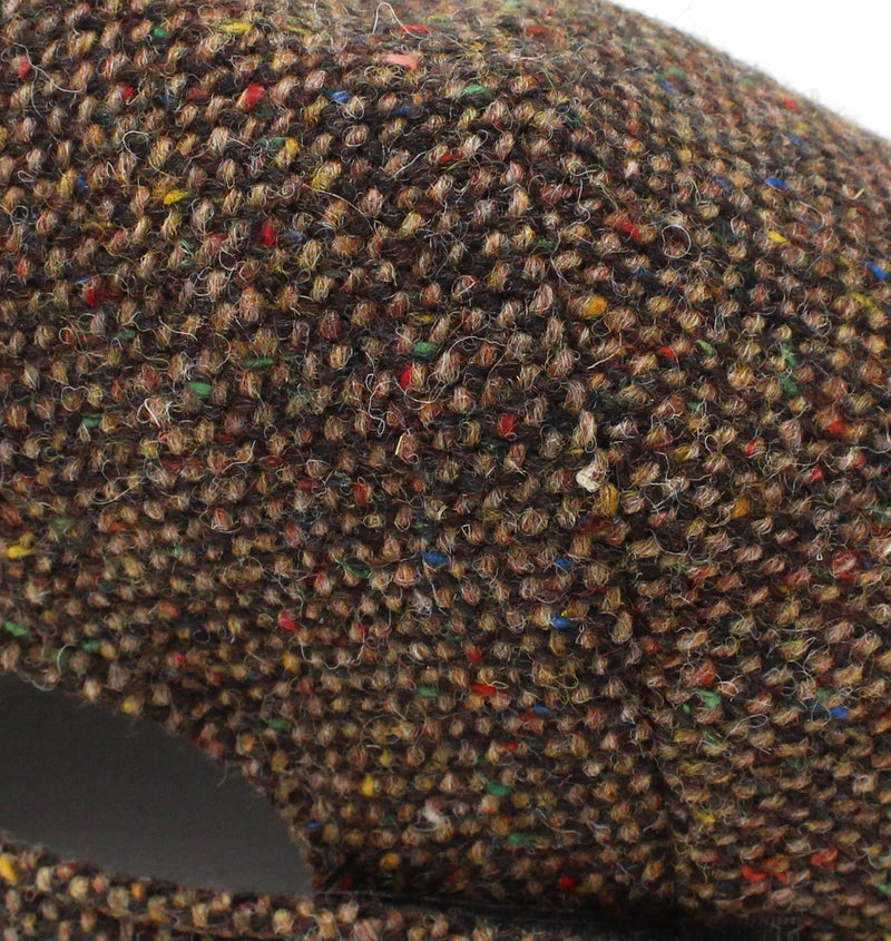 Colour; Brown Salt N' Pepper tweed swatch