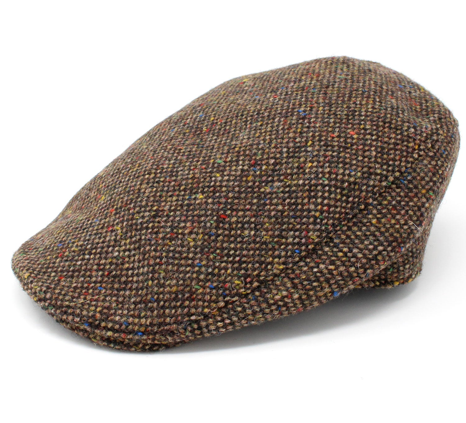 Hanna Donegal Touring Tweed Cap | Brown Salt and Pepper
