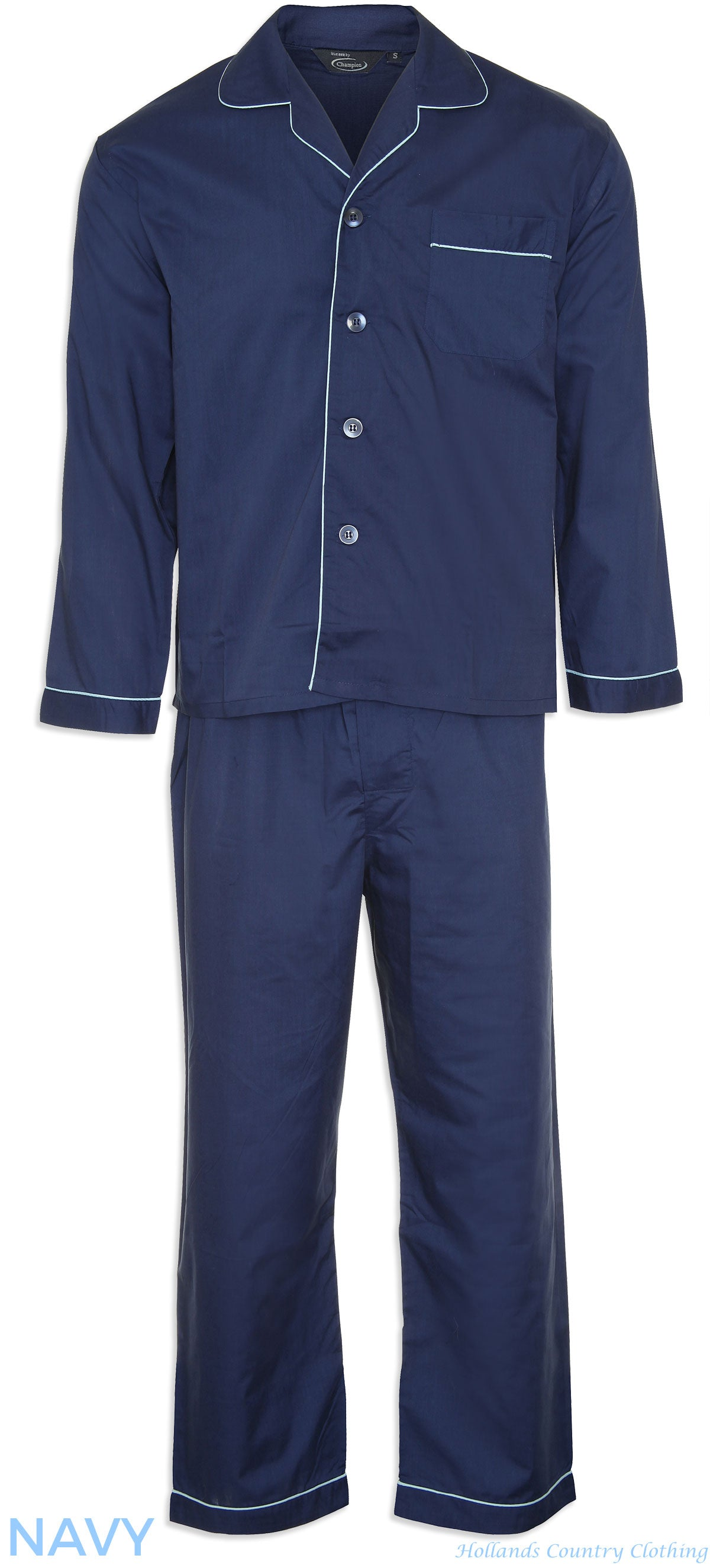 Champion Classic Oxford Pyjamas navy