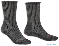 Dark Charcoal colour Bridgedale Hike Midweight Comfort Sock