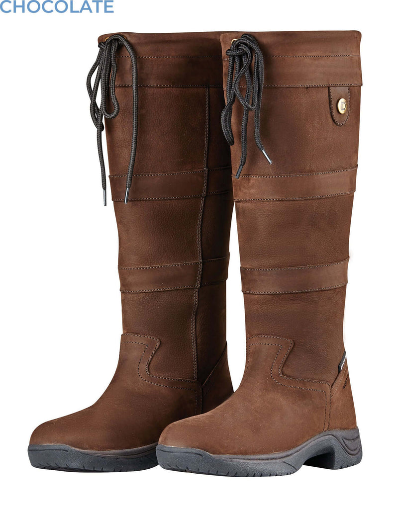 Chocolate Dubln River boots
