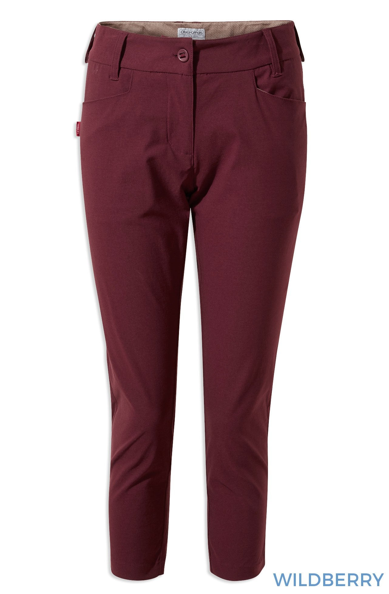 Wildberry Craghoppers NosiLife Clara Crop Trousers