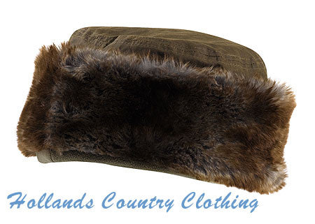 Cabinteely Faux Fur and Waxed cotton Hat JACK MURPHY Hat 822