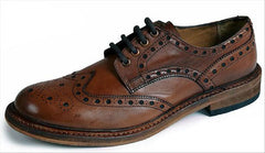 Catesby Leather Sole Rich Brown Brogue