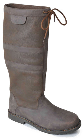 Catesby Stratford Ladies Leather Country Boots - Wide Leg Fit