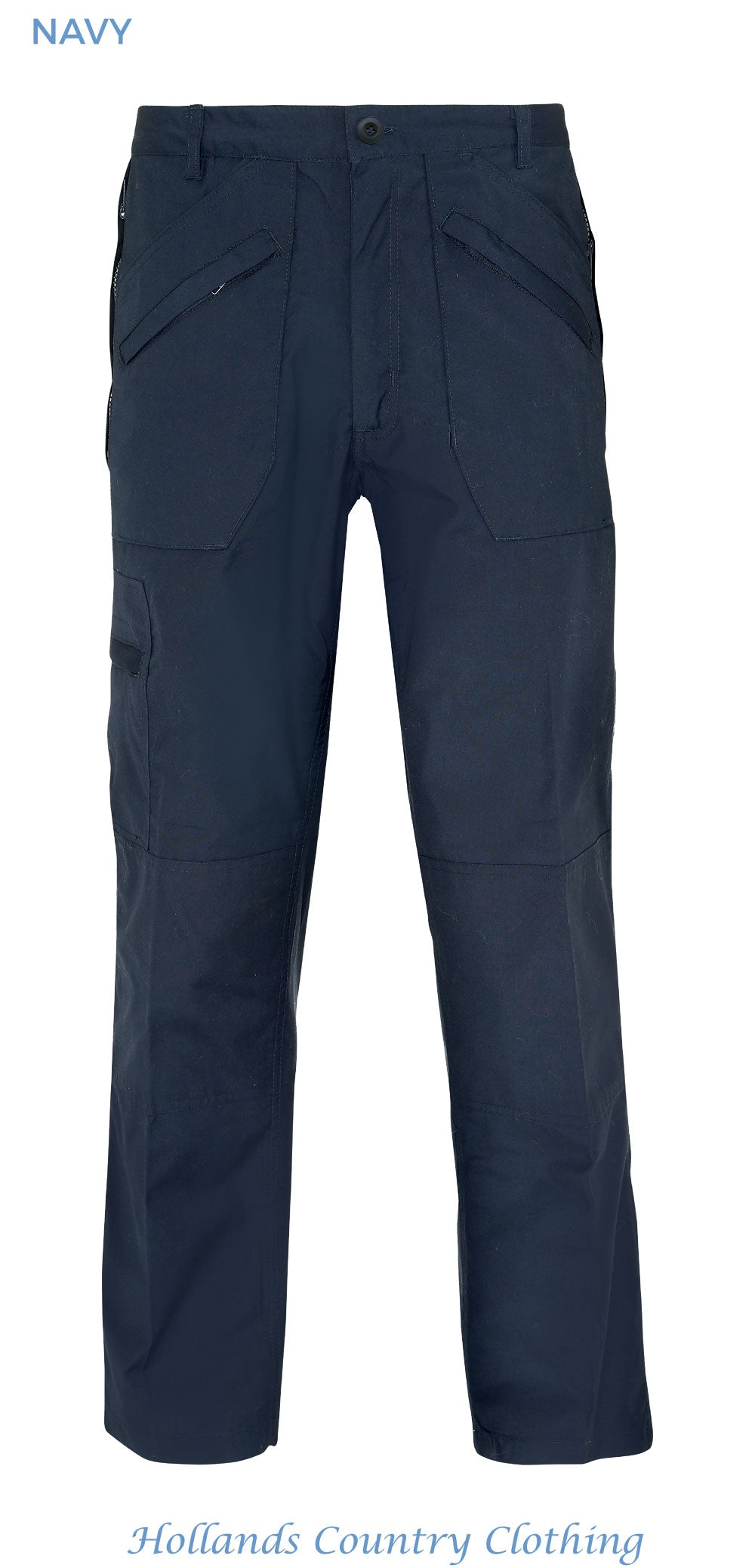 Navy colour wenlock multi pocket action trousers