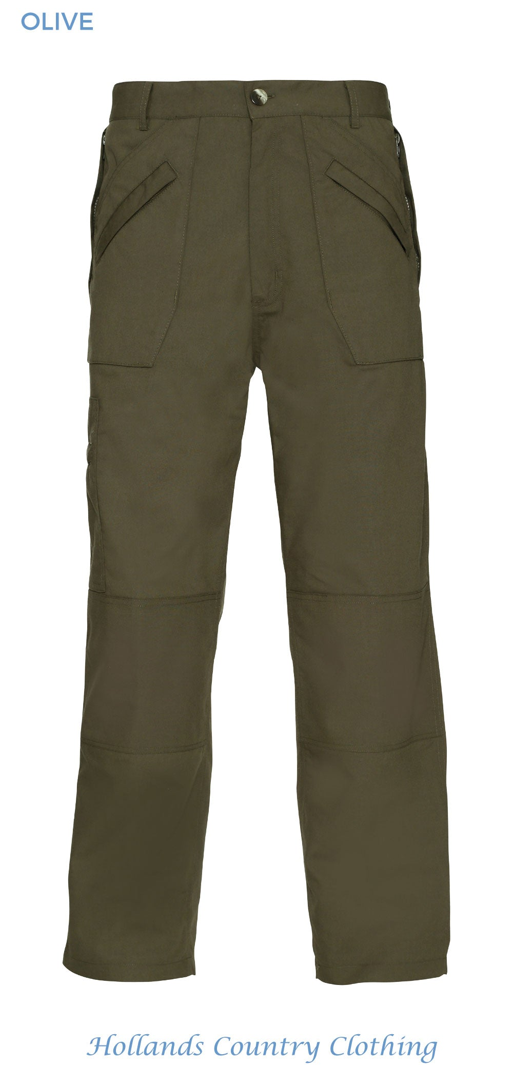 olive colour wenlock multi pocket action trousers
