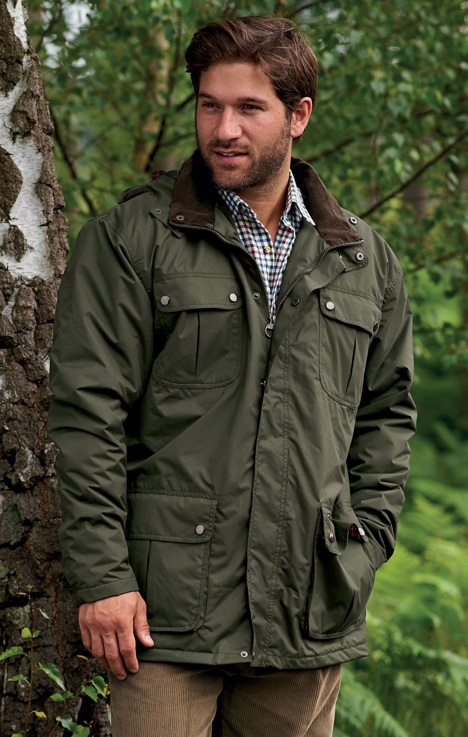 Balmoral waterproof breathable Champion Jacket Code 3690