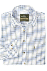 Blue XXL Champion Long Sleeved Tattersall  Country Check Shirt.