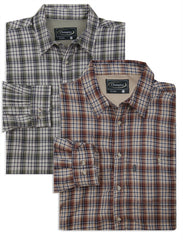 A country Tartan plaid check shirt with a micro fleece lining that's ideal for winter weather.