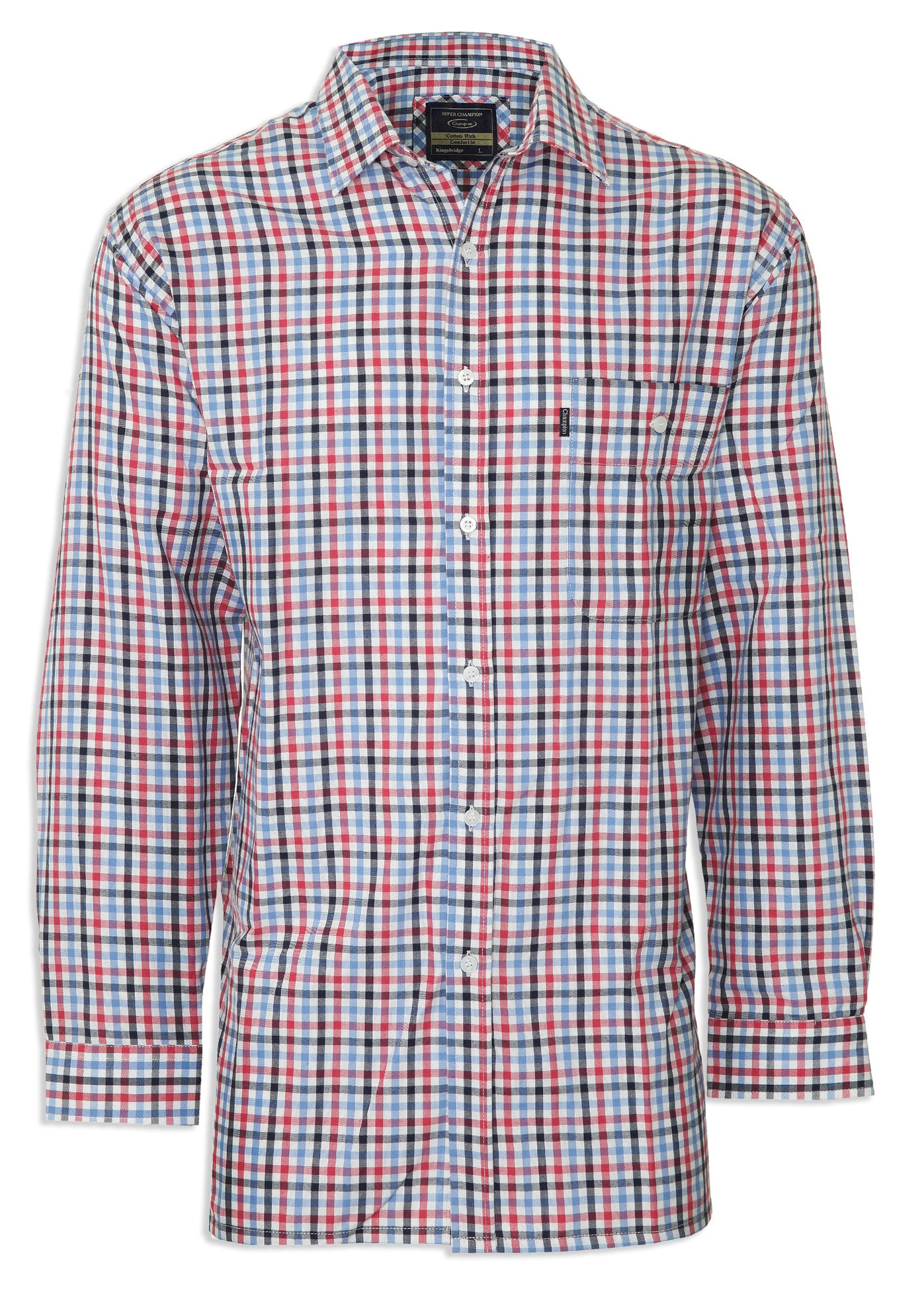 red smart Regimental check Shirt at very appealing price