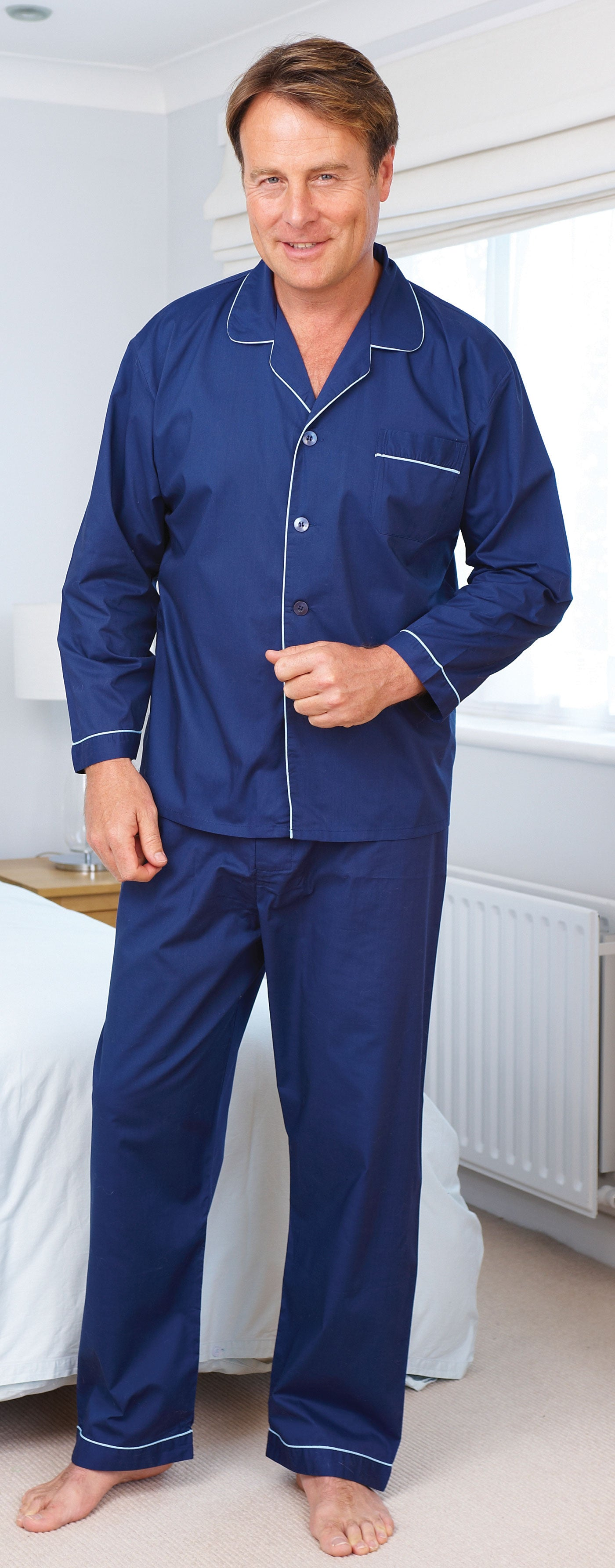 man bedroom Champion Classic Oxford Pyjamas