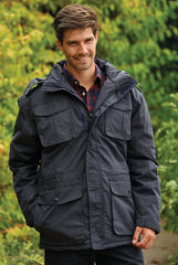 walking wearing Champion Moorland Waterproof Jacket