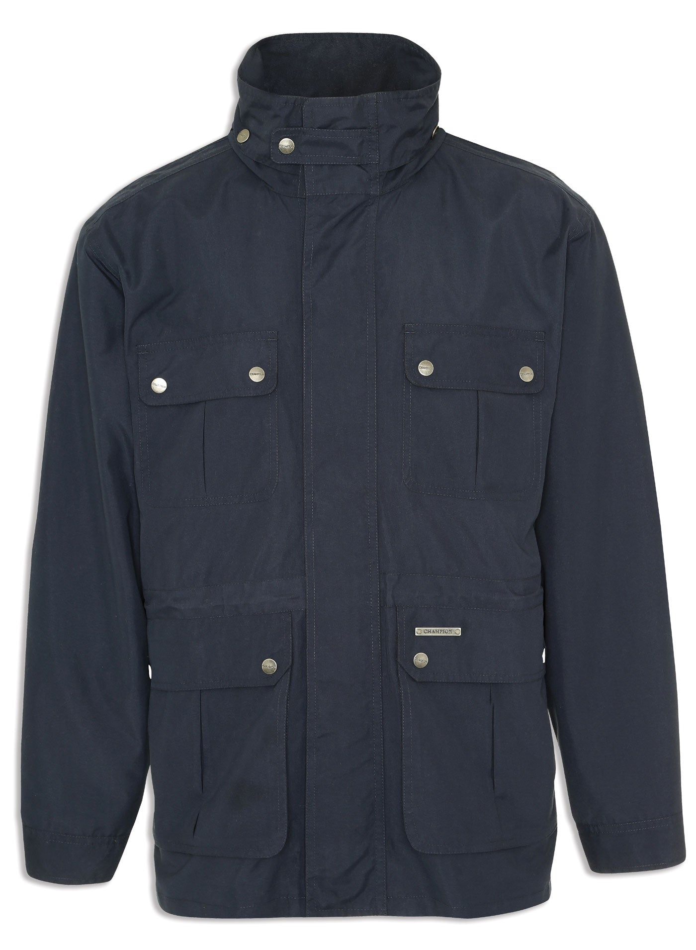 Champion pevensey multi-pocket jacket in navy
