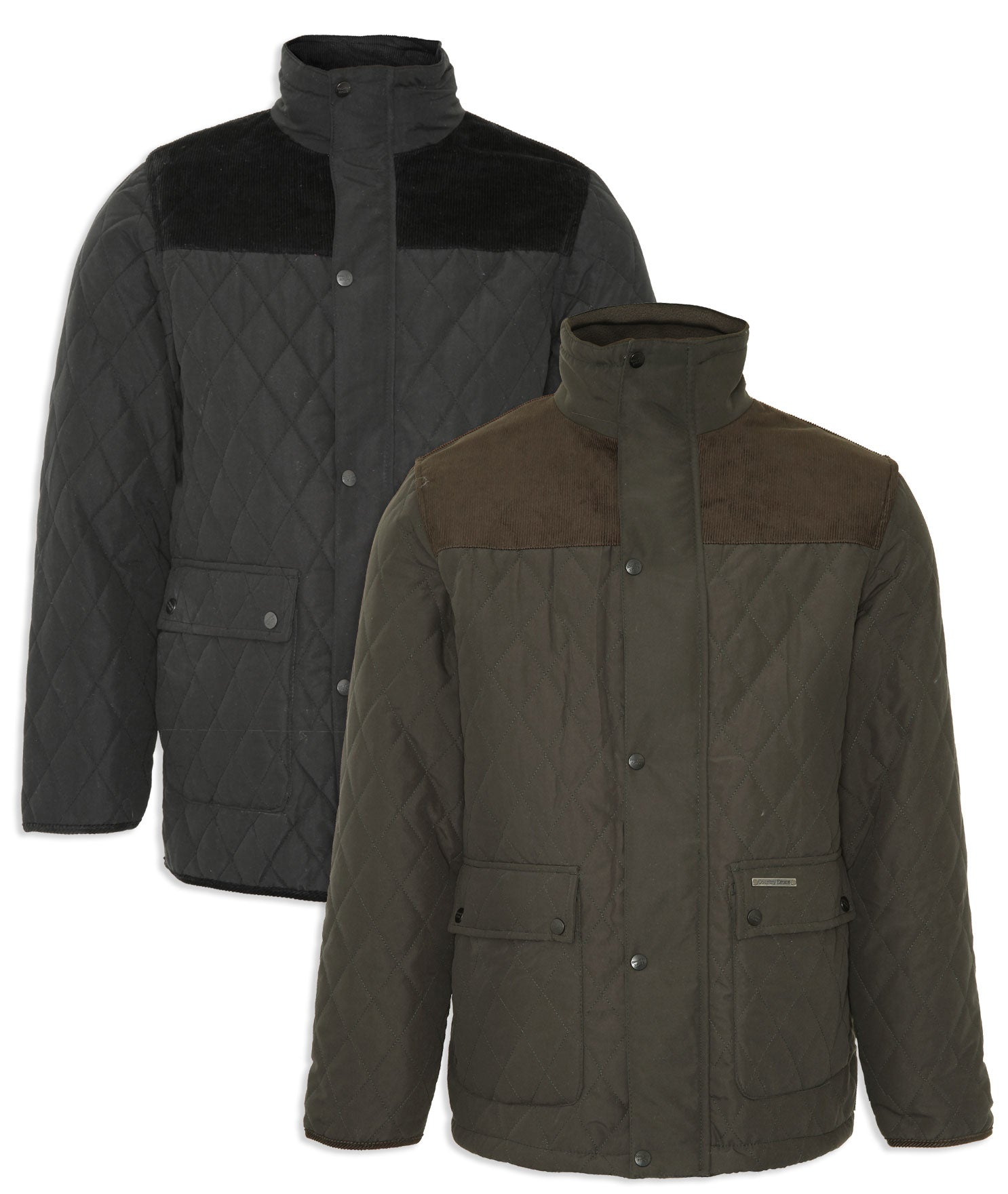 Champion Lewis Quilted Jacket Fleece Lined Warm Country Classic