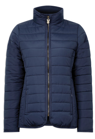 Champion Roseland Quilted Jacket navy