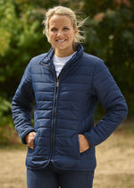 lady wearing Champion Roseland Quilted Jacket