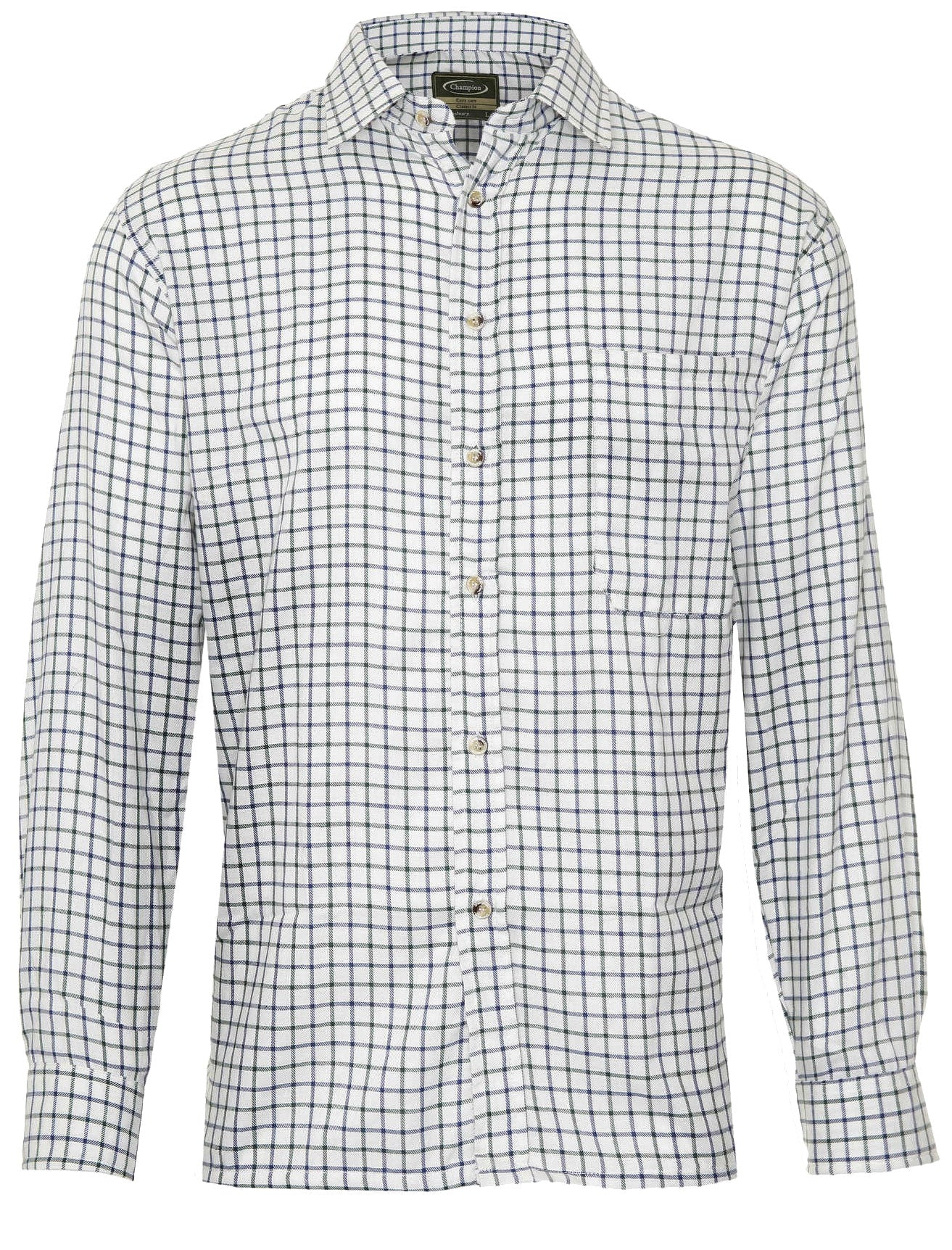 blue Champion Salisbury Country Check Shirt