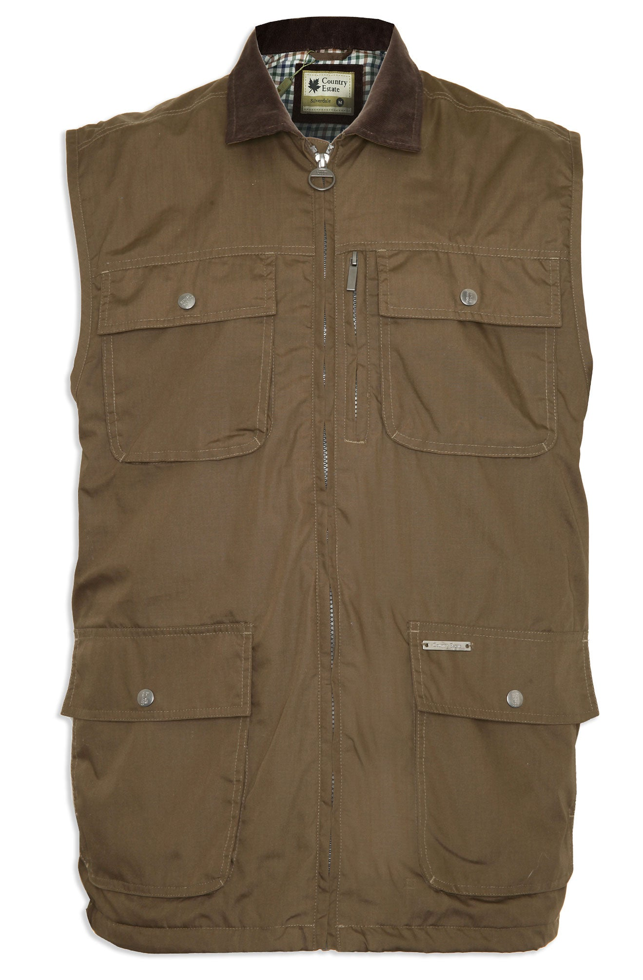 waistcoat with four secure pockets Silverdale Multi Pocket Waistcoat from Champion Outdoor