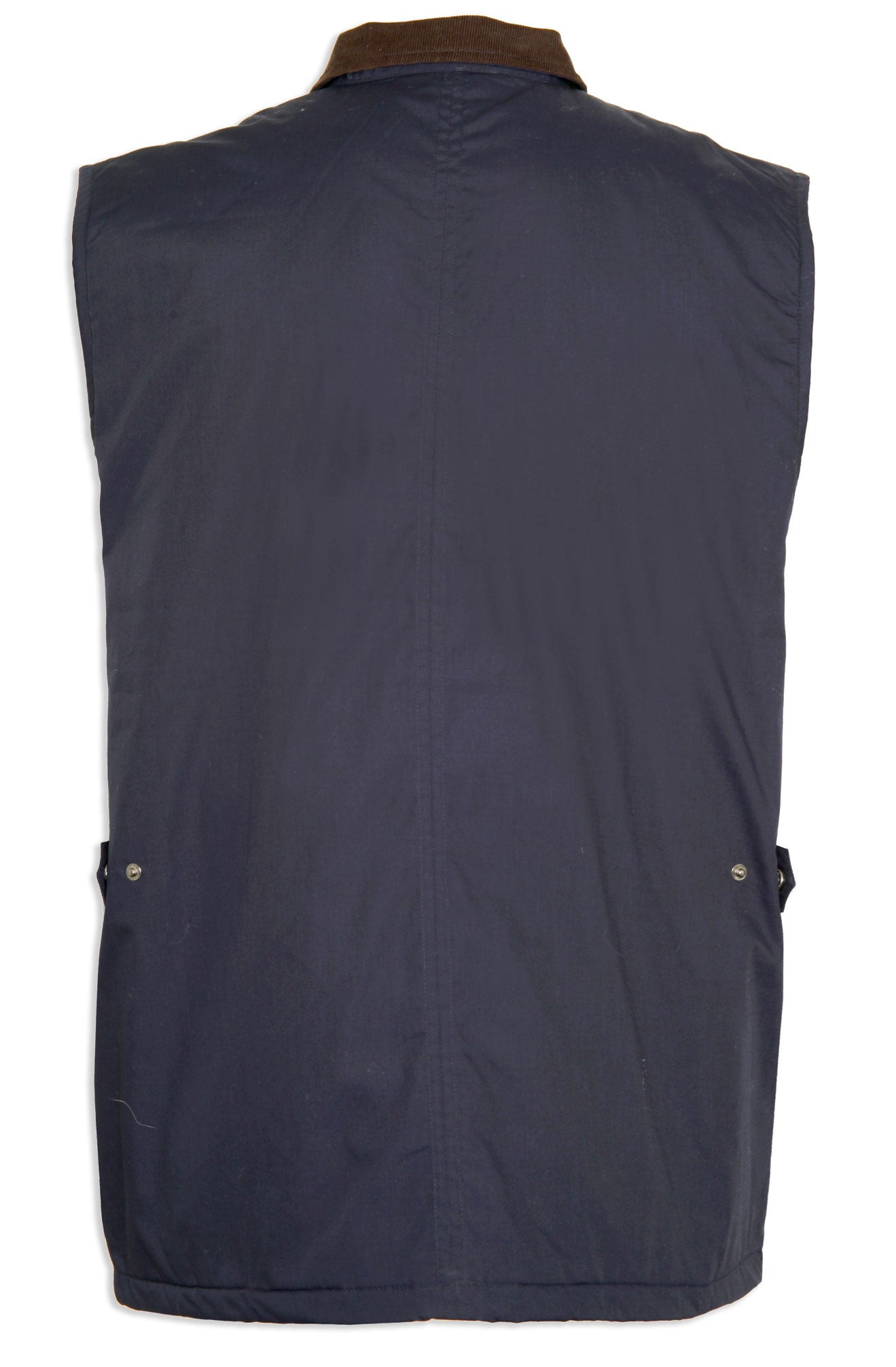 navy rear view navy Silverdale Multi Pocket Waistcoat from Champion Outdoor