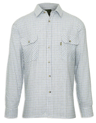 Champion 100% Cotton Tattersall Check Shirt Blue and green