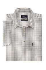 Big sizes for Champion summer Tattersall, the classic country tattersall check shirt with short sleeves, ideal for summer