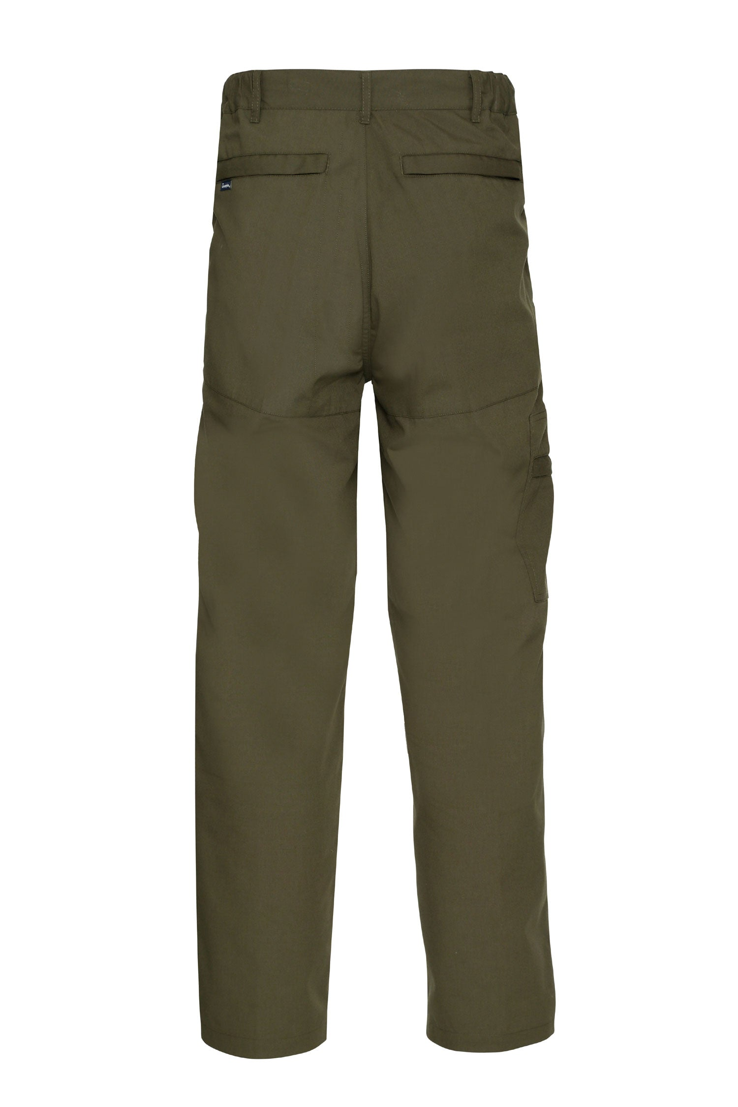 back and front view Champion Men's Multi Pocket Activity Trousers
