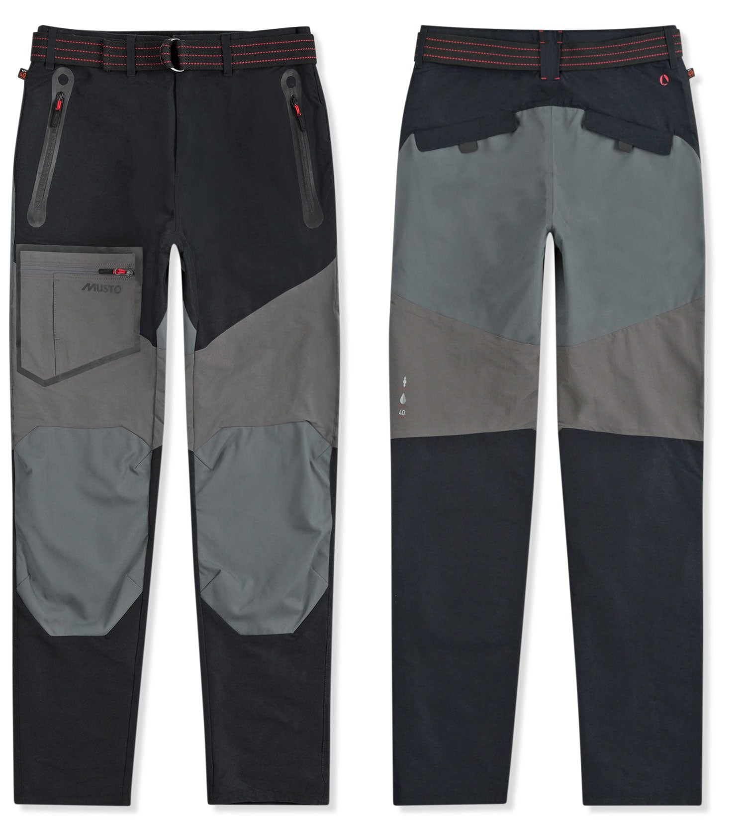 Black Musto Evolution Blade Technical Trousers