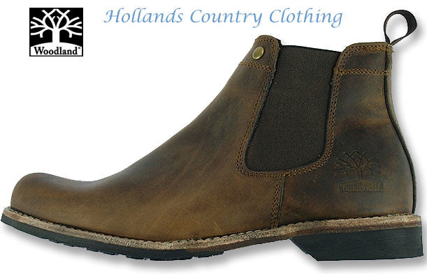 Woodland Leather Chelsea Boot