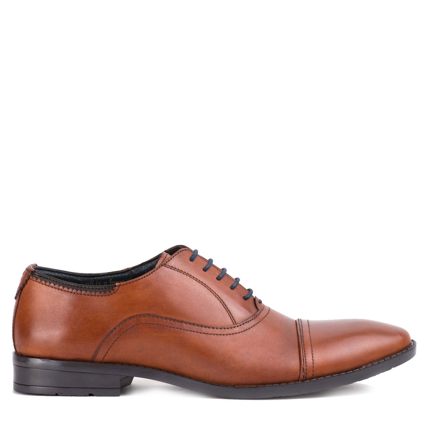 Westminster Rich Tan Leather Oxford Shoe by Goodwin Smith
