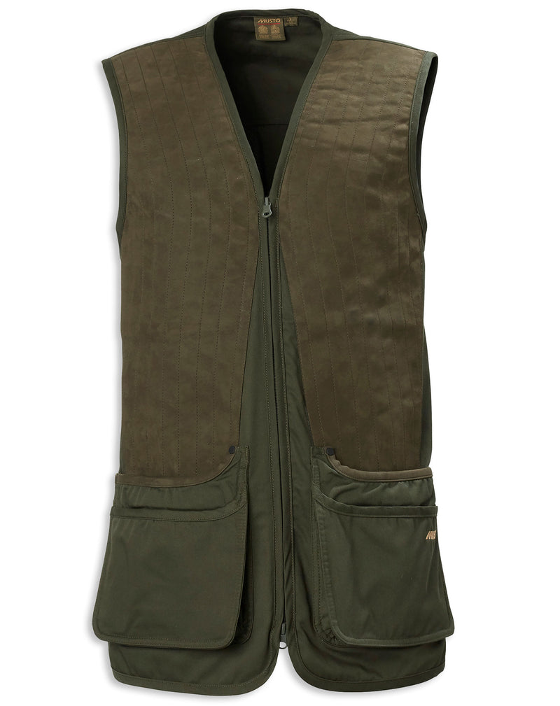 Green Musto Clay Shooting Vest