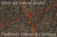 quality British tweed woven in Yorkshire. 100% Shetland Sheep's Wool