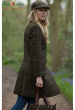 out in the woods Combrook Ladies Tweed Mid Coat by Alan Paine