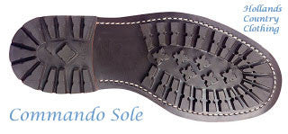 showing Commando Sole Catesby Leather Brogue Shoe