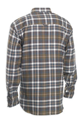 rear view Deerhunter Marlon Long Sleeve Shirt