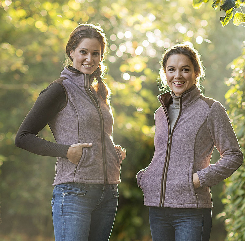 Baleno Fleeces in Heather colour