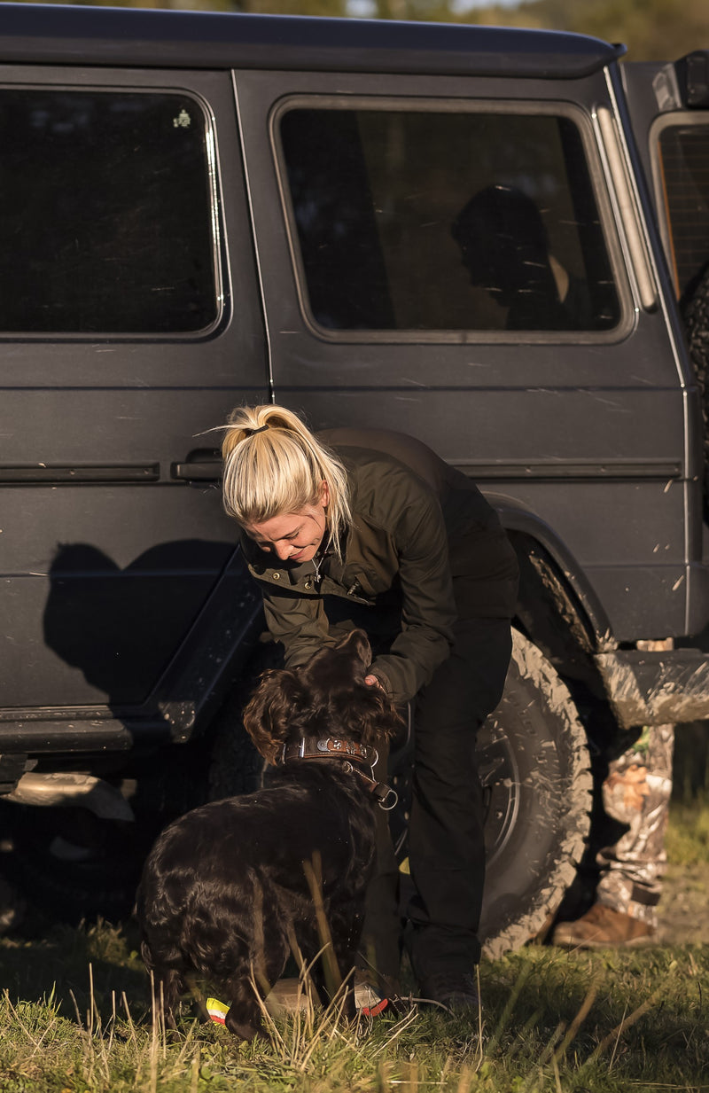 The Lady Ann jacket from Deerhunter is a beautiful outdoor jacket for nature enthusiasts.