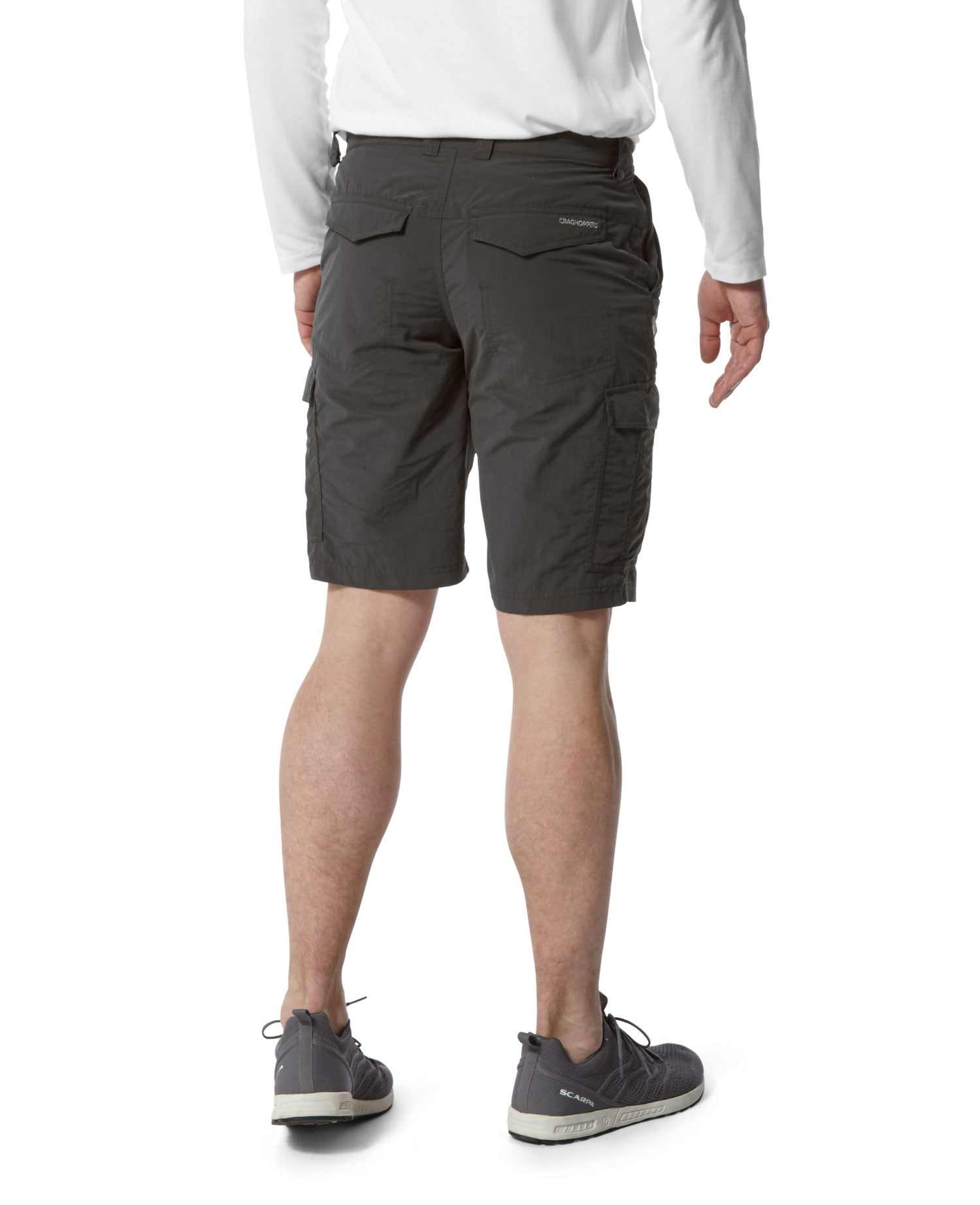 rear view Craghoppers NosiLife Cargo II Shorts