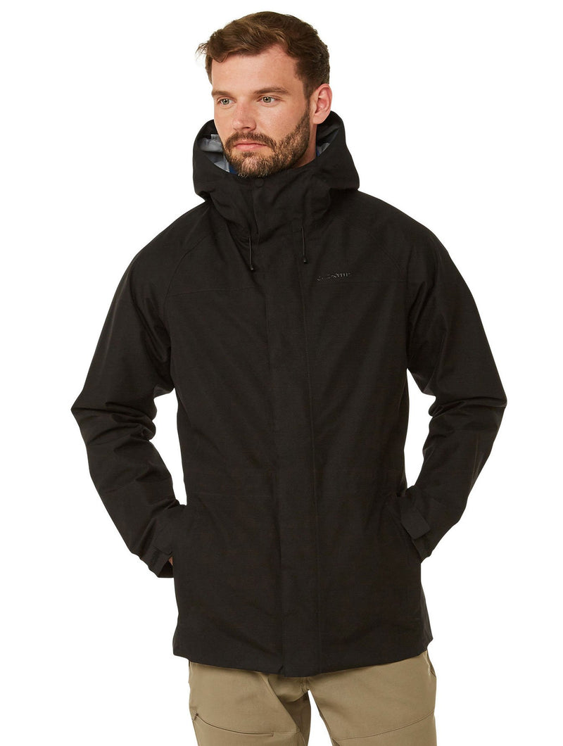 Black Corran Gore-Tex Waterproof Jacket by Craghoppers
