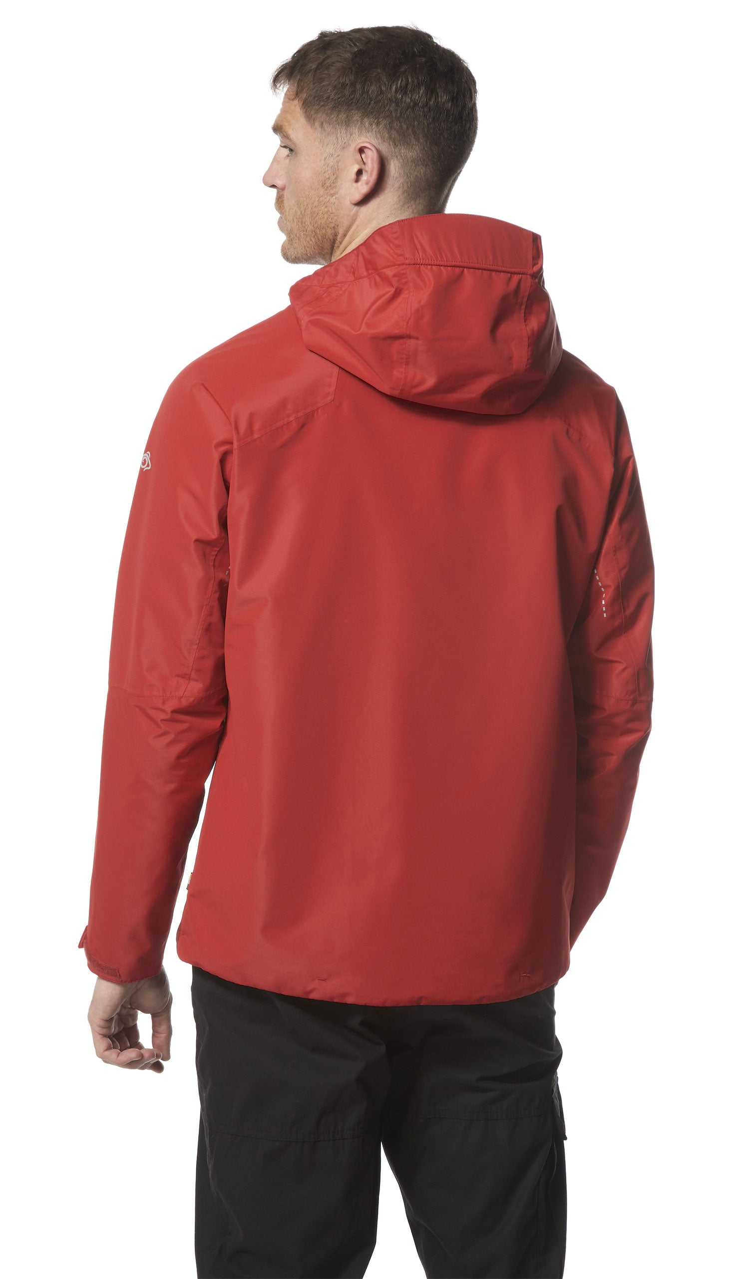 rear view Craghoppers Horizon Waterproof Jacket