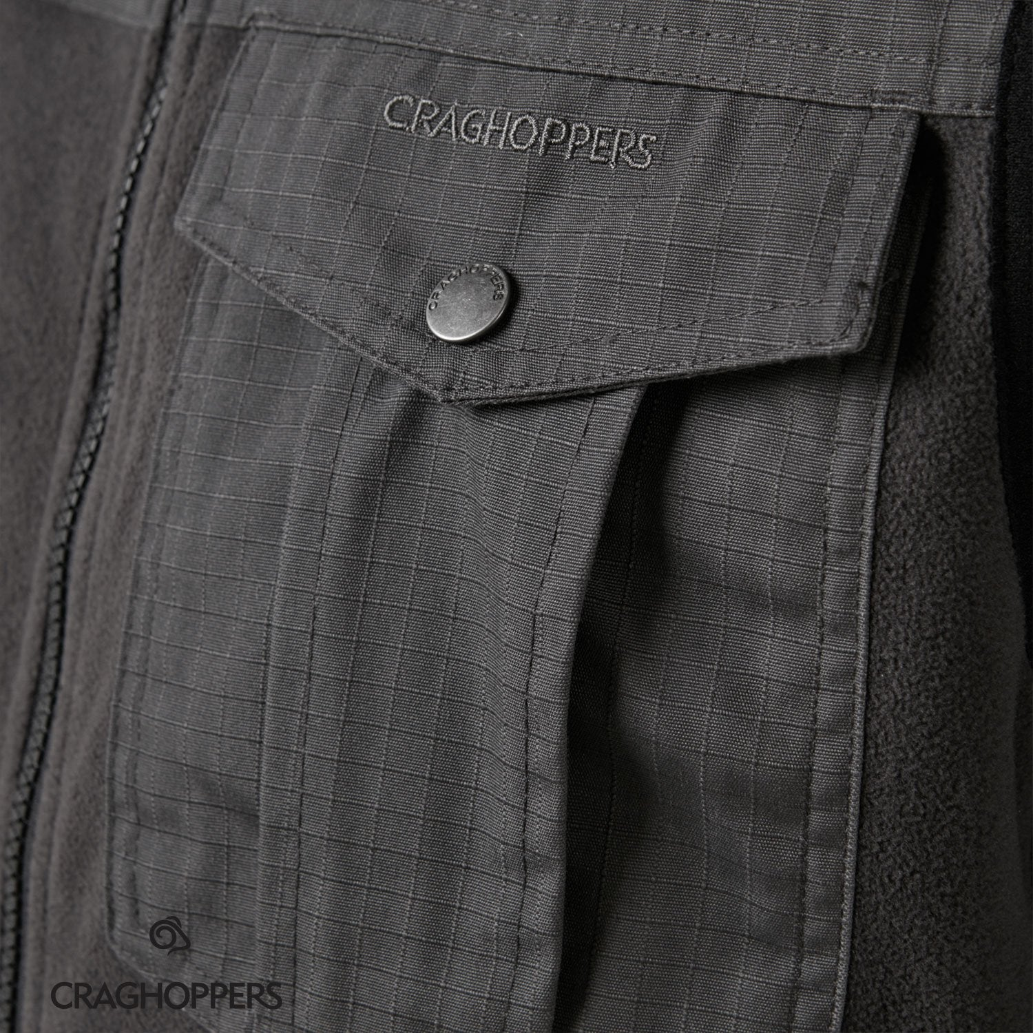 Chest pocket detail