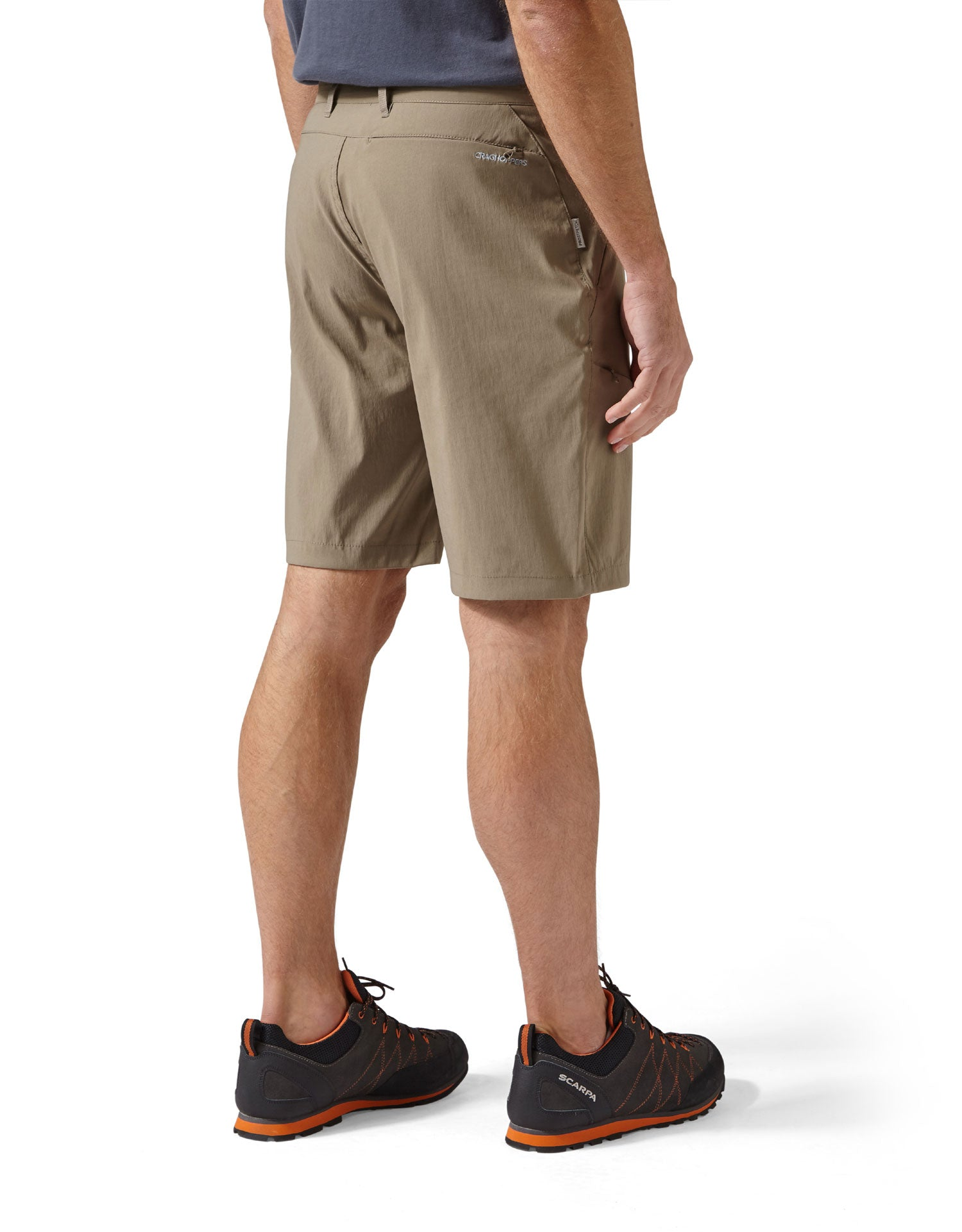 knee length travel shorts