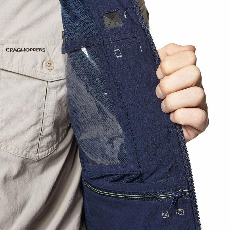 Waterproof pocket Craghoppers Varese Multi-pocket Travel Waistcoat