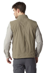 Back view Craghoppers Varese Multi-pocket Travel Waistcoat