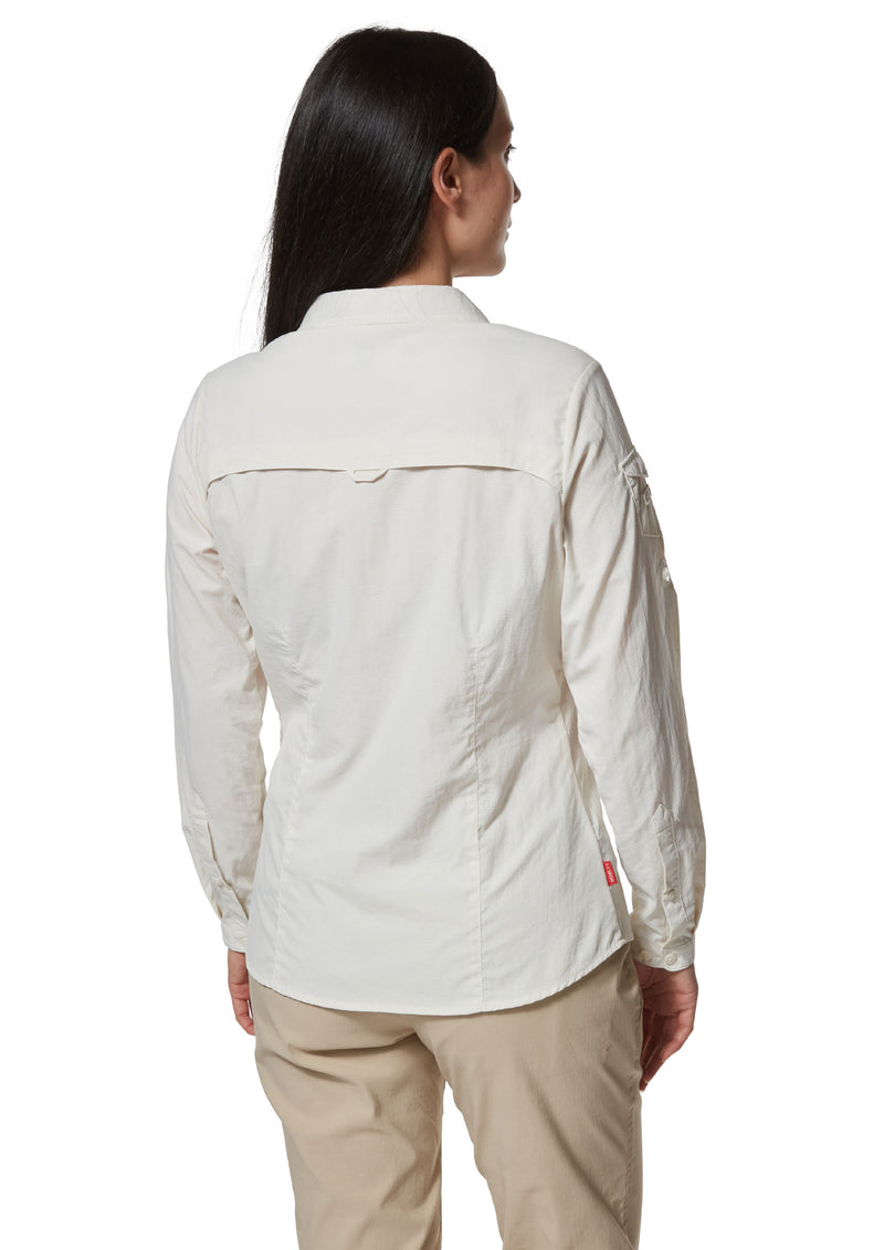 Back View Ladies Adventure Shirt II by Craghoppers