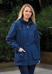 lady wearing Cromer Ladies Summer Parka by Champion Country Estate
