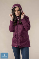 Lighthouse Raven Fleece Lined Waterproof Coat