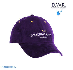 Sporting hares Dark Plum Sports Cap