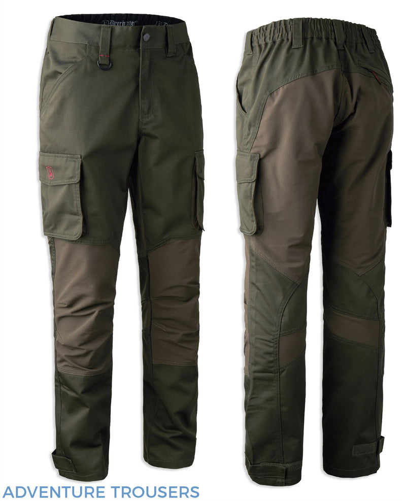 adventure Green Deerhunter Rogaland Stretch Trousers